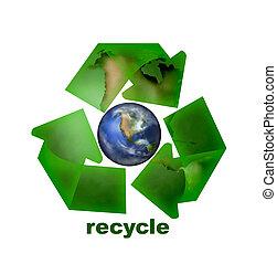 Recycle Icon Illustration