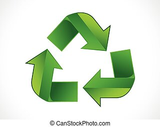 recycle icon vector illustration