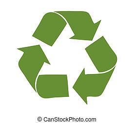 Recycle logo concept