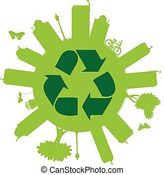 Recycle On The Globe