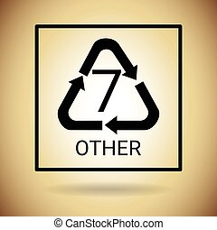 Recycle Symbol Logo Web Icon