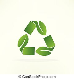 recycle symbol, logo