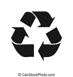 Recycle Symbol, Vector Illustration