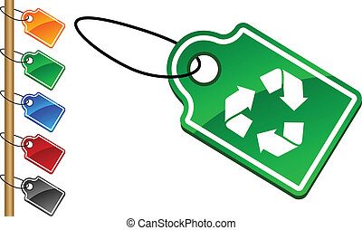 Recycle tags.