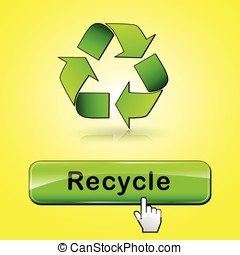 recycle web button