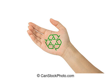 Recycle with in hand