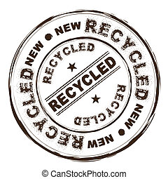recycled ink stamp