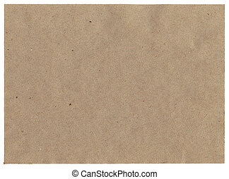 Recycled paper - Big size recycled paper sheet isolated on ...