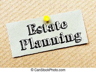 Estate Planning Message