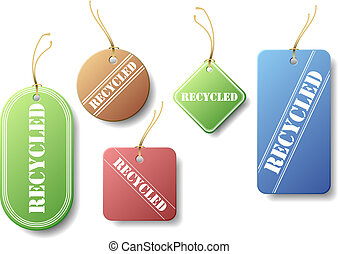 Recycled Tags
