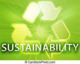 recyclend symbool