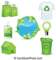 recycler, icônes