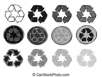 recycler, signes