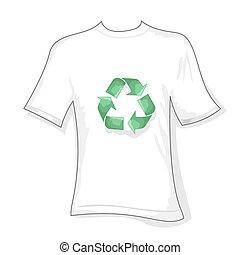 recycler, t-shirt