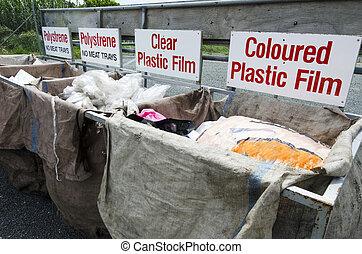 recycling összpontosít