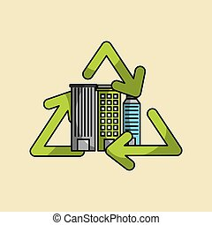 eco friendly related icons image