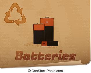 Recycling batteries memo