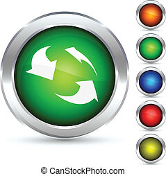 Recycling button.