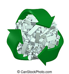 recycling, concept