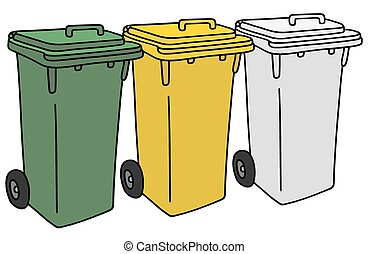 Recycling dustbins