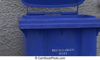 Recycling - Stock Video Footage of someone Recycling