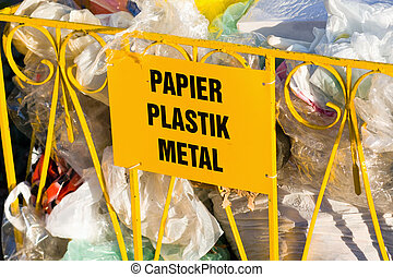 Recycling garbage and reusable waste management