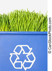 recycling, gras