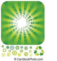 recycling, groene