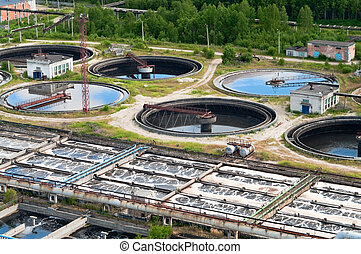 recycling, grupa, organizmy, cielna, drainages., puryfikacja...