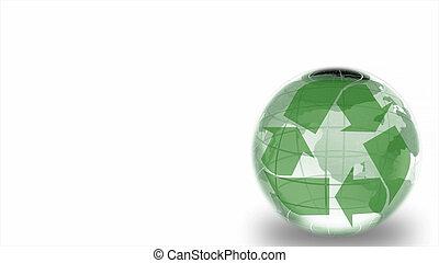 Recycling logotype