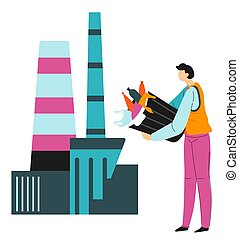 Recycling of waste, litter pollution and nature protection...