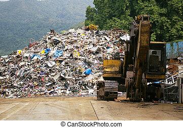 recyklace, továrna
