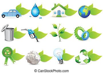 recyklovat, ikona
