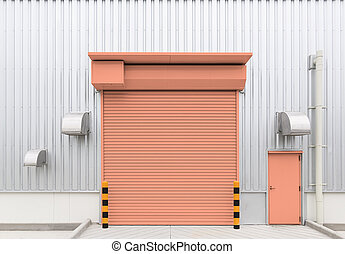 redőny, ajtó, gyár