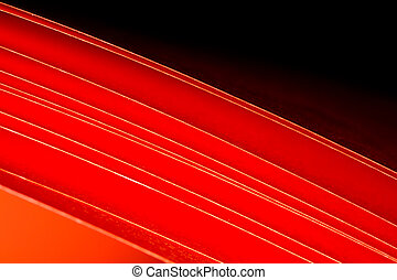red A4 paper abstract background