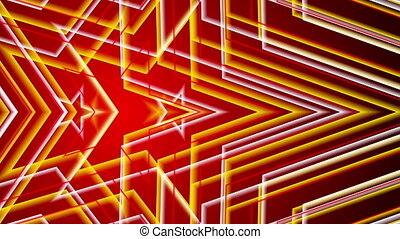 red abstract background, loop
