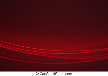 Red abstract background made with red light