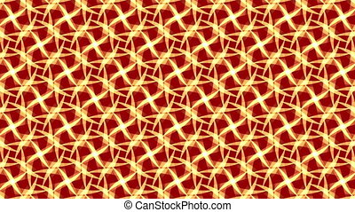 red abstract background, ornament