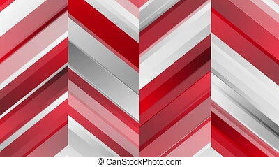 Red abstract corporate technology video animation