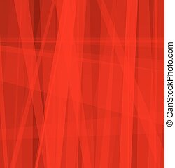 Red Abstract Line Background - Background with layered...