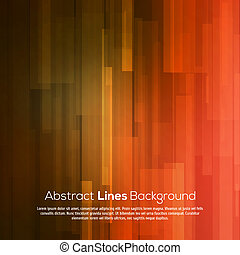 Red abstract lines business vector background.