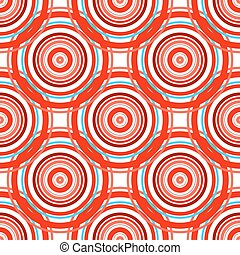 Red abstract seamless pattern