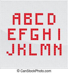Red Alphabet Part One