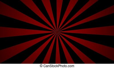 Red and black pinwheel