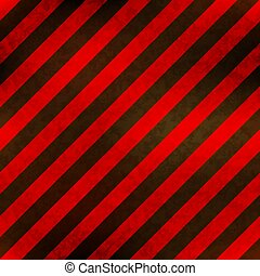 Red and black stripes with grunge texture, seamless pattern