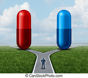 Red And Blue Pill Choice