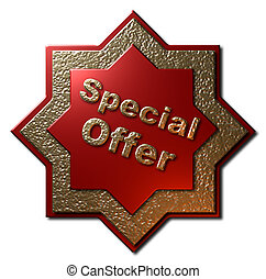 Red and Gold Seal - Special Offer