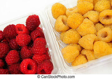 Red And Golden Raspberry