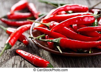 chili pepper - red and green chili pepper
