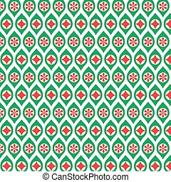 red and green ornaments